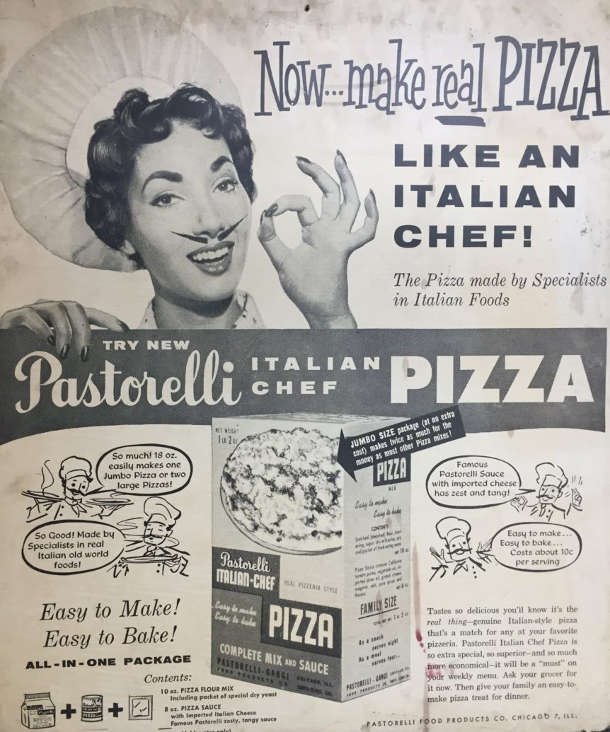 Pastorelli Pizza Kit Ad